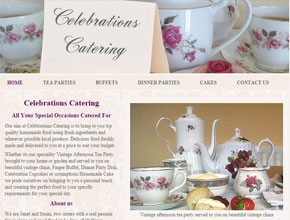 Celebration catering - vintage tea party specialists in Norfolk