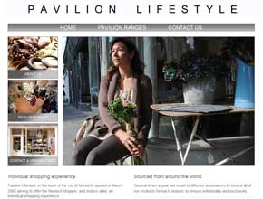 Pavilion Lifestyle - unique shopping experience in Norwich