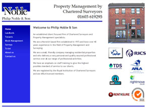 Philip Noble & Son - Property Management by Chartered Surveyors