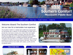 Southern Comfort River Boat
